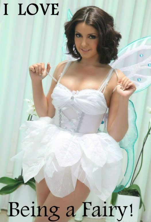 Sissy Fairy Caption for Girly Guys